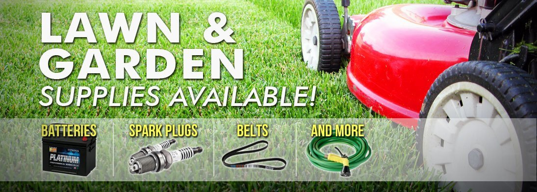 Lawn and Garden Products Available