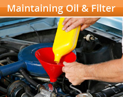 Maintain Your Vehicle's Oil and Filter