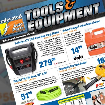 Tool and Equipment Sales